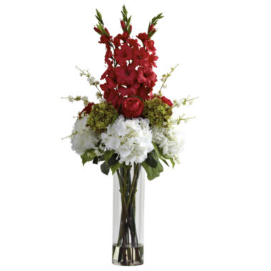 jcpenney.com | Nearly Natural Giant Mixed Floral Arrangement