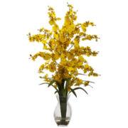 Dancing Lady Orchid with Vase Arrangement