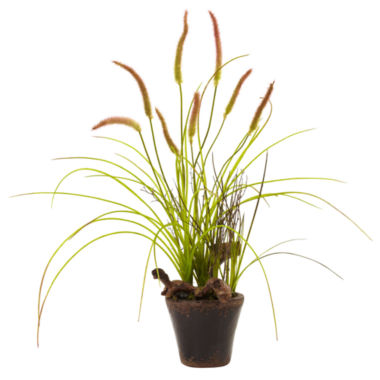 jcpenney.com | Nearly Natural Swampy Cattail Garden with Planter