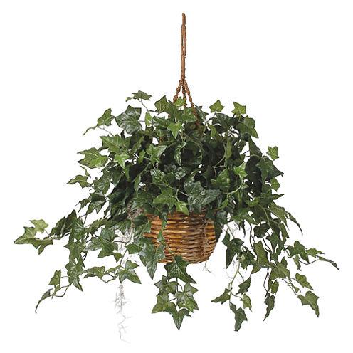 Nearly Natural English Ivy Hanging Basket