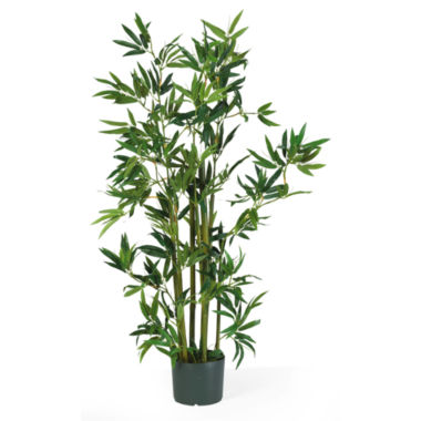 jcpenney.com | Nearly Natural 4-ft. Bamboo Silk Plant