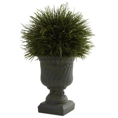 jcpenney.com | Nearly Natural Potted Grass With Decorative Urn Indoor/Outdoor