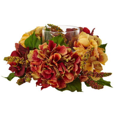 jcpenney.com | Nearly Natural Autumn Hydrangea Berry Candelabrum