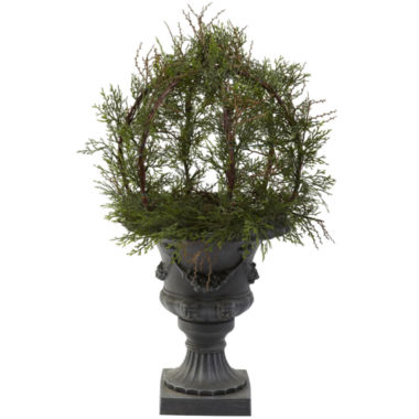 jcpenney.com | Nearly Natural 30 Pond Cypress Topiary With Urn Indoor/Outdoor