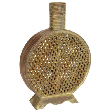 jcpenney.com | Nearly Natural Open Weave Decorative Vase