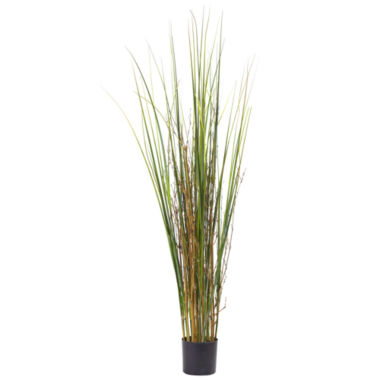 jcpenney.com | 4' Grass & Bamboo Plant