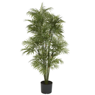 jcpenney.com | Nearly Natural 4-ft. Plastic Parlour Palm Tree