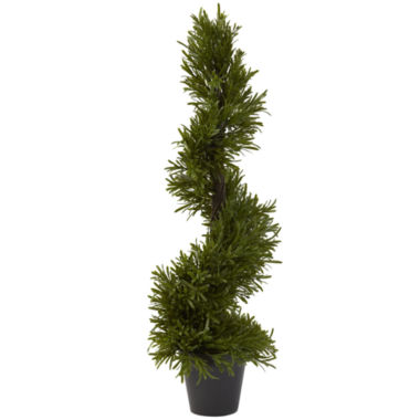 jcpenney.com | Nearly Natural Rosemary Spiral Tree