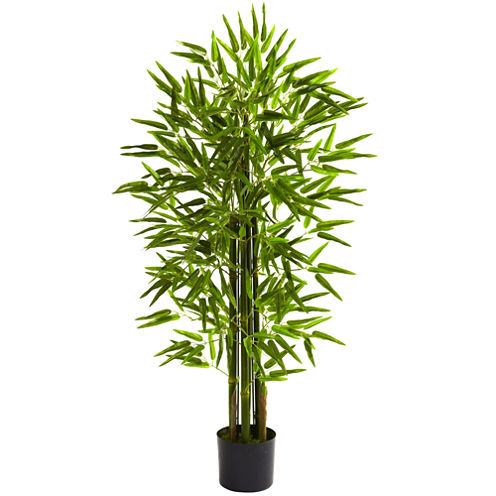 Nearly Natural Bamboo Tree UV-Resistant