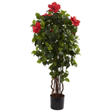 jcpenney.com | Nearly Natural 4-ft. Hibiscus Tree