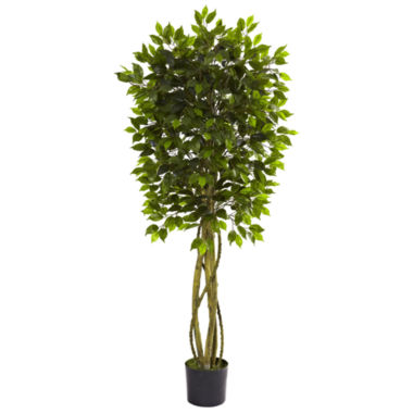 jcpenney.com | Nearly Natural Ficus UV-Resistant Tree