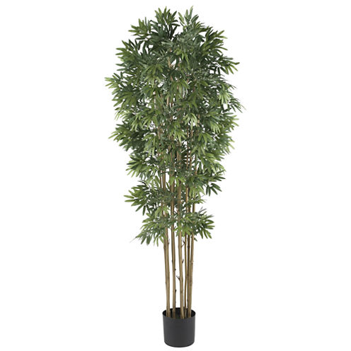 Nearly Natural 6-ft. Bamboo Japonica Silk Tree