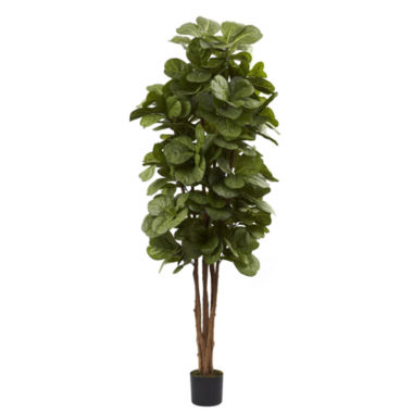 jcpenney.com | Nearly Natural 6-ft. Fiddle Leaf Fig Tree