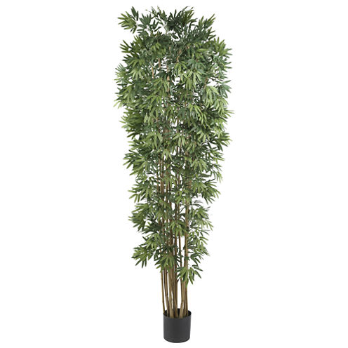 Nearly Natural 7-ft. Bamboo Japonica Silk Tree