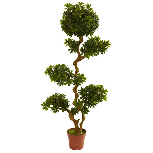 Nearly Natural 5-ft. Pittosporum UV-Resistant Indoor/Outdoor