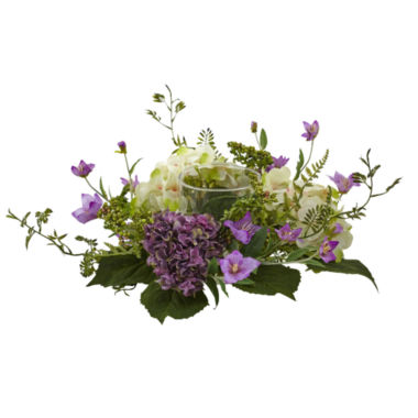 jcpenney.com | Nearly Natural Hydrangea Berry Candelabrum