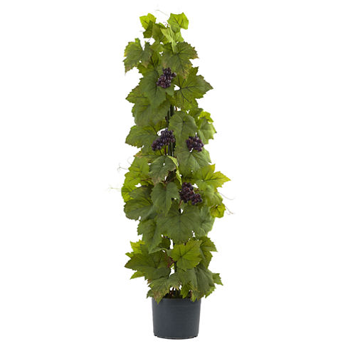 "40"" Grape Leaf Deluxe Climbing Plant"