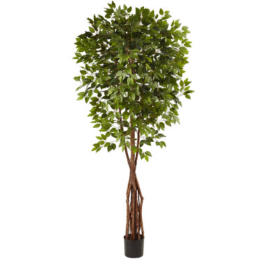 jcpenney.com | Nearly Natural 7.5-ft. Super Deluxe Ficus Tree