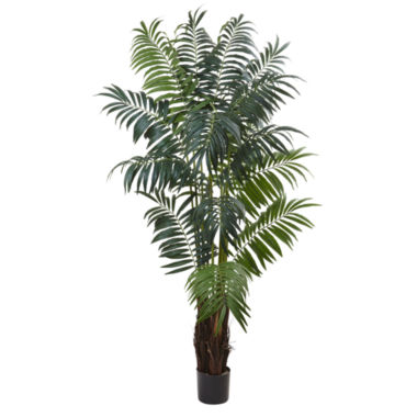 jcpenney.com | Nearly Natural 7.5-ft. Bulb Areca Palm Tree