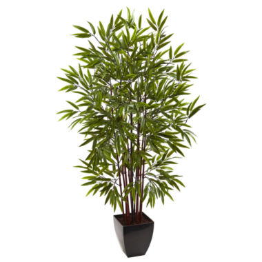 jcpenney.com | Nearly Natural Bamboo Silk Tree With Planter