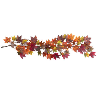"jcpenney.com | 60"" Maple Leaf Garland"