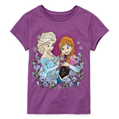 jcpenney.com | Disney® Frozen Sisters Graphic Tee