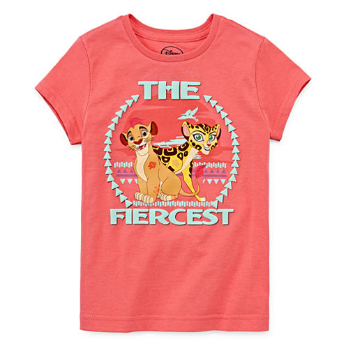Disney Collection Short-Sleeve The Lion Guard Fierce Tee - Girls 7-16