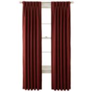 Liz Claiborne® Kathryn Room-Darkening Pinch-Pleat/Back-Tab Window Treatments