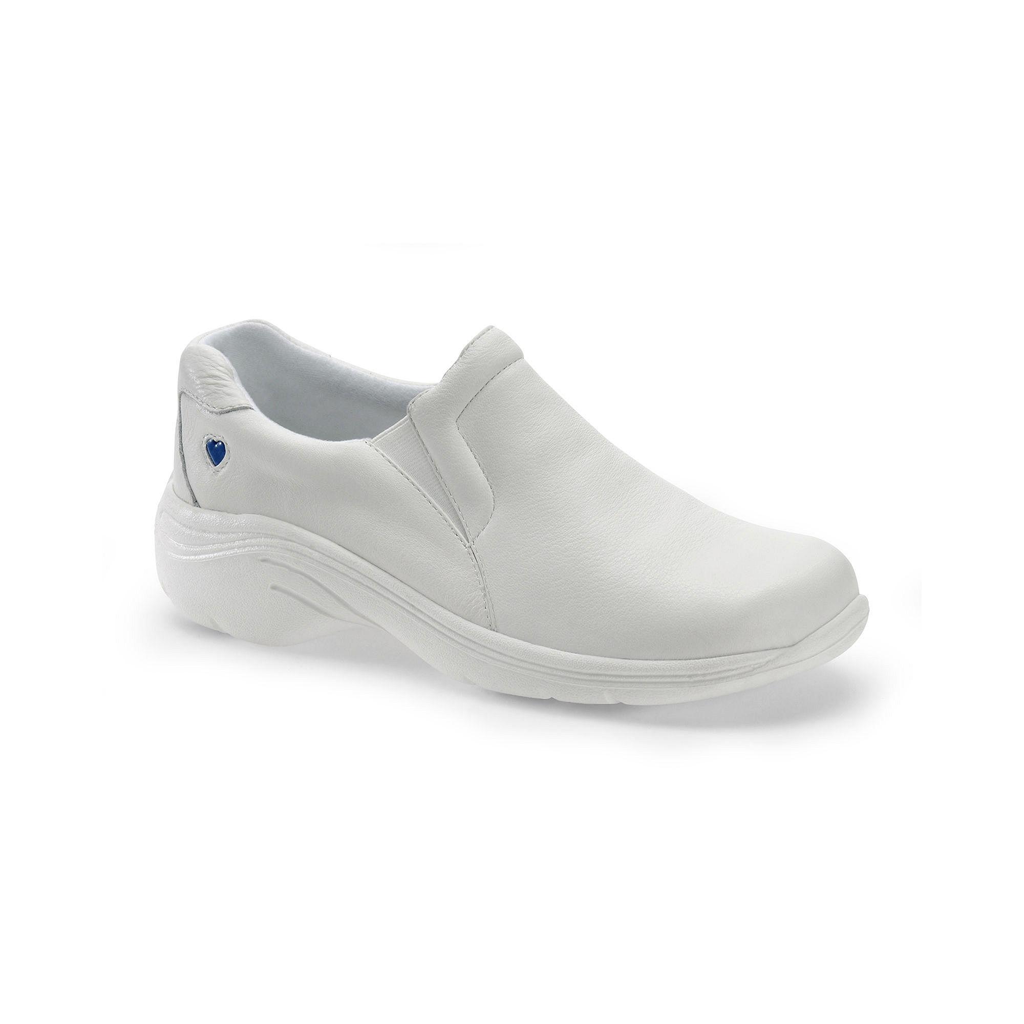 Nurse Mates Dove Leather Slip-On Shoes plus size,  plus size fashion plus size appare