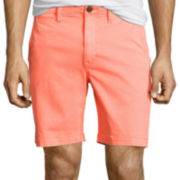 "Arizona Flex Surfer Prep 8½"" Inseam Flat-Front Shorts"