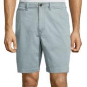 "Arizona Flex Surfer Prep 8½"" Inseam Flat-Front Shorts"