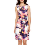 Worthington® Sleeveless Sheath Dress