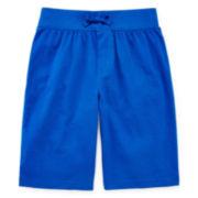 Okie Dokie® Knit Pull-On Shorts - Preschool Boys 4-7