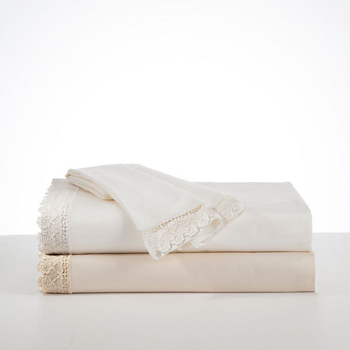 Downton Abbey Countess 4-pc. Lace Sheet Set
