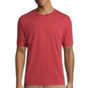St. John's Bay® Short-Sleeve Heather Tee