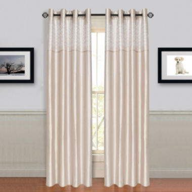 jcpenney.com | Cambridge Home Alla Grommet-Top Curtain Panel