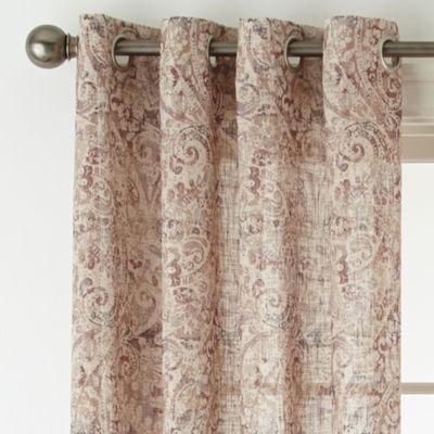 Royal Velvet Estate Grommet Top Curtain Panel Jcpenney