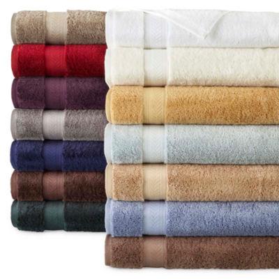royal velvet luxury egyptian cotton loops bath towels jcpenney. Black Bedroom Furniture Sets. Home Design Ideas