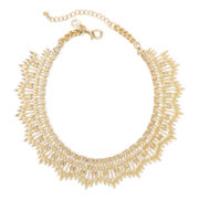 Gemma Simone™ Delica Molten Gold-Tone Collar Necklace