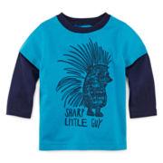 Okie Dokie® Graphic Tee - Baby Boys newborn-24m