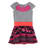Rare Editions Drop-Waist Dress - Toddler Girls 2t-4t