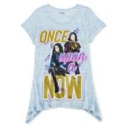 Disney Descendants Graphic Sharkbite Tee - Girls 7-16