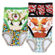 Pokémon 5-pk. Briefs - Boys 4-8