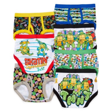 jcpenney.com | Teenage Mutant Ninja Turtles 7-pk. Briefs - Toddler Boys 2t-4t