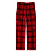 Arizona Plaid Microfleece Pajama Pants - Boys 4-20