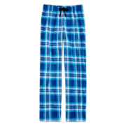 Arizona Plaid Microfleece Pajama Pants - Boys 4-20