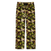 Arizona Camo Microfleece Pajama Pants - Boys 4-20