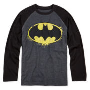 Batman Long-Sleeve Raglan Tee - Boys 8-20