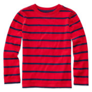 Arizona Long-Sleeve Striped Tee - Preschool Boys 4-7