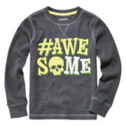 Arizona Long-Sleeve Graphic Thermal Tee - Preschool Boys 4-7